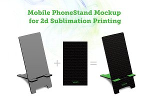 Printed Mobile Phone Stand2d Mock-up