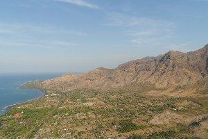 tropical landscape sea coast