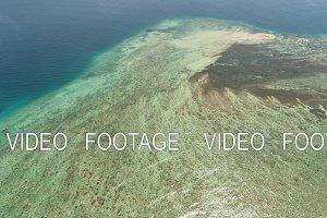 seascape coral reef in sea