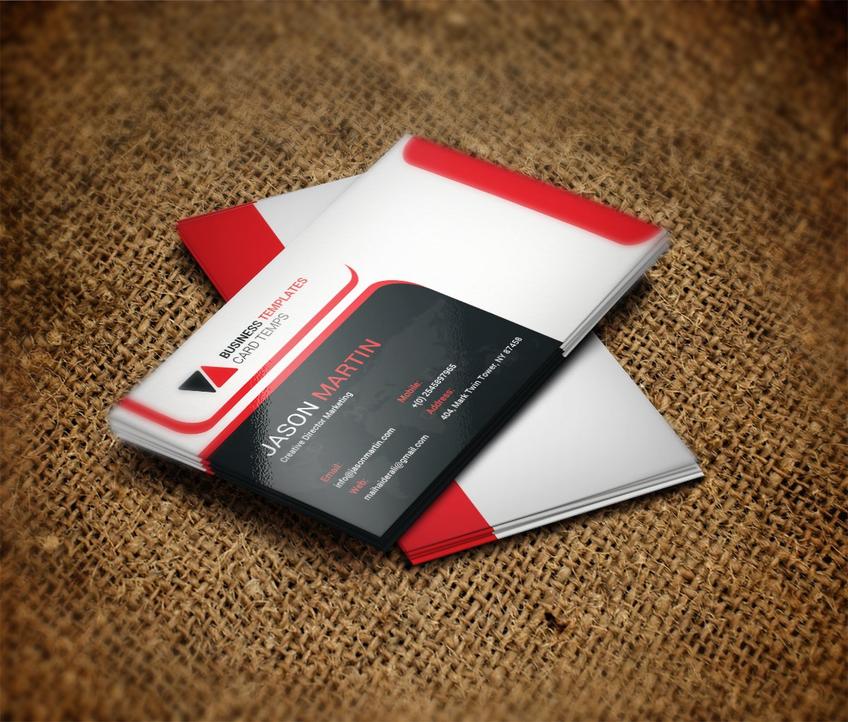 Office business card template business card design for Microsoft office business card templates