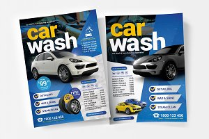 Car Wash Poster / Flyer