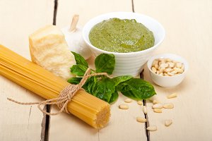 Italian classic basil pesto sauce ingredients 001.jpg