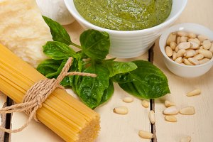 Italian classic basil pesto sauce ingredients 005.jpg