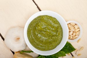 Italian classic basil pesto sauce ingredients 008.jpg