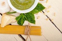 Italian classic basil pesto sauce ingredients 009.jpg