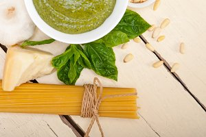 Italian classic basil pesto sauce ingredients 009.jpg