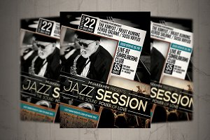 Jazz Session Flyer / Poster