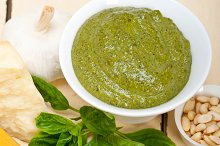 Italian classic basil pesto sauce ingredients 006.jpg