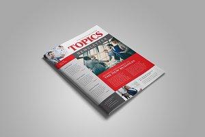 Business Newsletter Template Design
