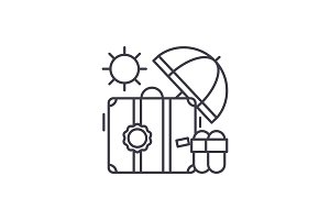 Cruise line icon concept. Cruise