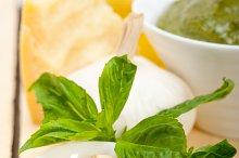 Italian organic basil pesto sauce ingredients 006.jpg