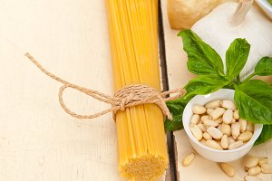 Italian organic basil pesto sauce ingredients 009.jpg
