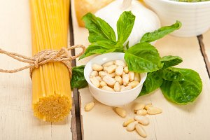 Italian organic basil pesto sauce ingredients 010.jpg