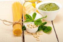 Italian organic basil pesto sauce ingredients 011.jpg
