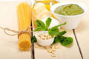 Italian organic basil pesto sauce ingredients 011.jpg