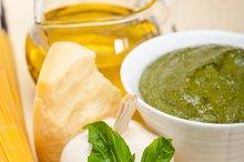 Italian organic basil pesto sauce ingredients 012.jpg