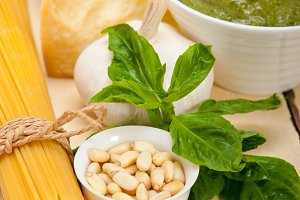 Italian organic basil pesto sauce ingredients 012.jpg