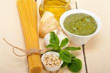 Italian organic basil pesto sauce ingredients 016.jpg