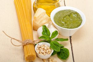 Italian organic basil pesto sauce ingredients 016.jpg