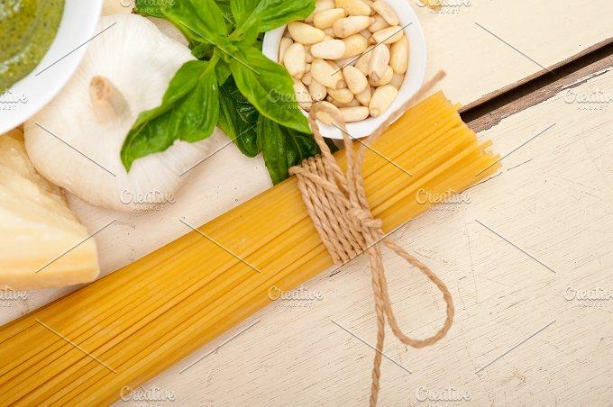 Italian organic basil pesto sauce ingredients 023.jpg - Food & Drink