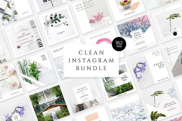 Clean Instagram Bundle
