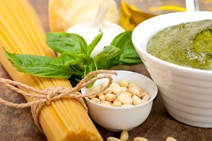 Italian organic basil pesto sauce ingredients 033.jpg