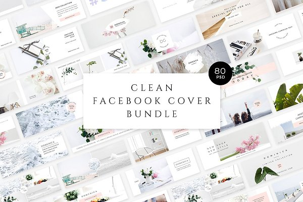 Clean Facebook Cover Bundle