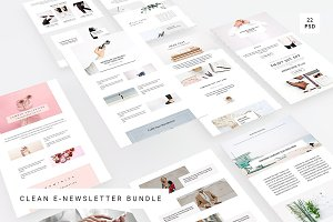 Clean E-Newsletter Bundle