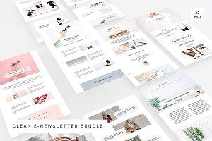 Clean E-Newsletter Bundle
