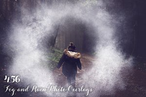 456 Fog and Rain Photo Overlays
