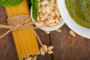 Italian organic basil pesto sauce ingredients 041.jpg
