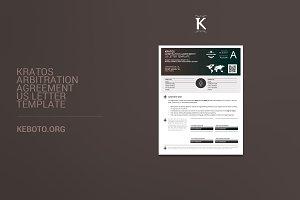 Kratos Arbitration Agreement USL