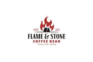Vintage Rustic Coffee Roaster Logo