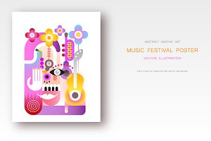 Music Festival vector design