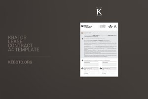 Kratos Lease Contract A4 Template