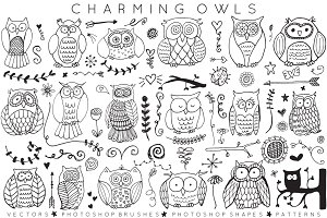 Charming Owls