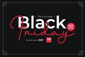 Black Friday - Font Bundle