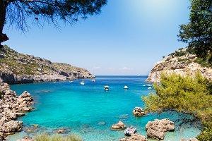 Anthony Quinn Bay, Rhodes (Greece)