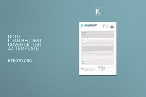 Octo Loan Request Cover Letter A4 Te