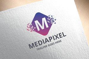 Letter M - Mediapixel Logo