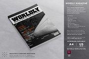 Wordly Magazine Template