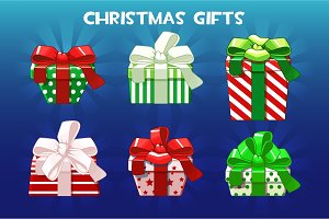 Cute Christmas different gifts