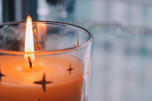 One Moment In Time - Holiday Candle