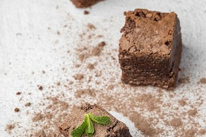 Chocolate brownie homemade