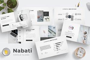 Nabati - Google Slides Template
