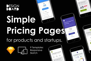 Simple Pricing Page Templates 01