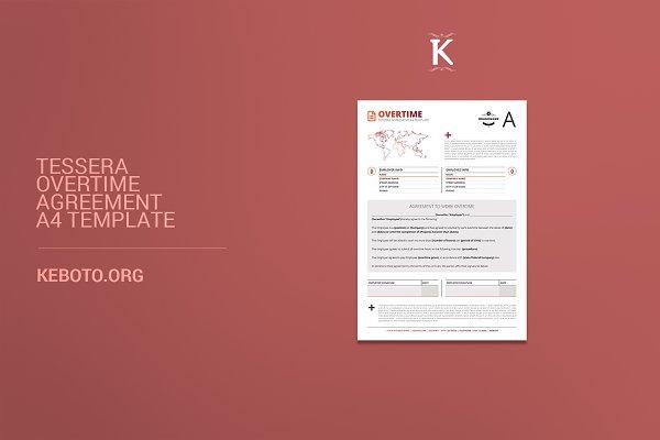 Tessera Overtime Agreement A4