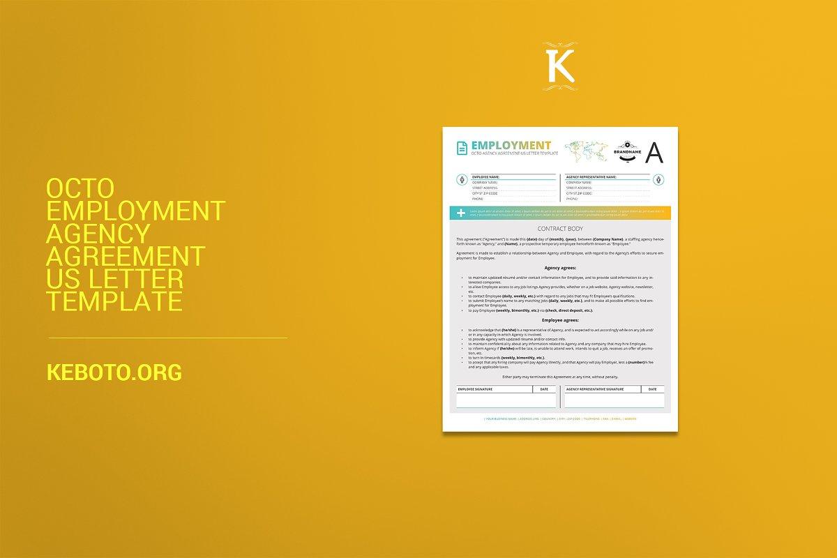 Octo Employment Agency Agreement USL