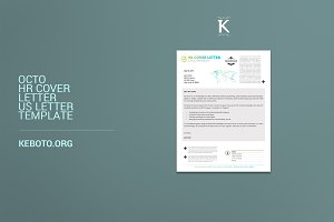 Octo HR Cover Letter US Letter