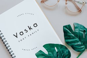 Vaska - Hand drawn, bold, powerful